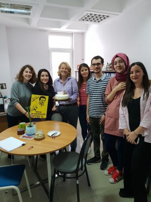 Happy B. Day to our Prof. Ebru TOKSOY ONER. B Day comes first